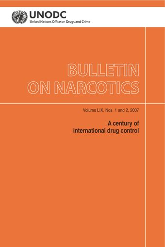 image of Bulletin on Narcotics