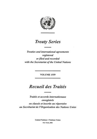 image of Treaty Series 1559