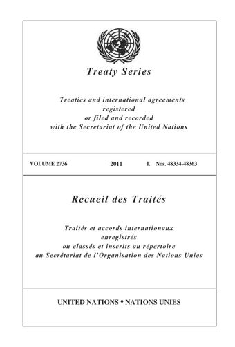 image of Treaty Series 2736