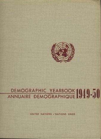 image of United Nations Demographic Yearbook 1949-1950