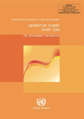 image of Information Economy Report 2006