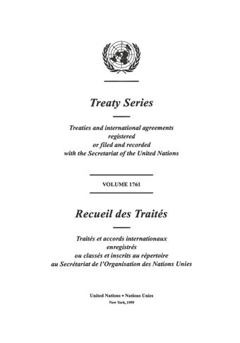 image of Treaty Series 1761
