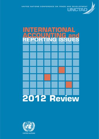 image of International Accounting and Reporting Issues - 2012 Review