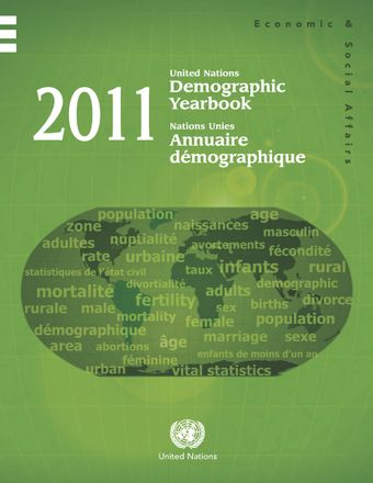 image of Table A. Demographic Yearbook 2011 synoptic table: Availability of data by country/area, table and sex, where applicable