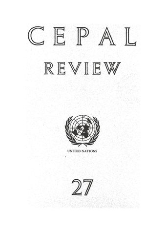 CEPAL Review No. 27, December 1985