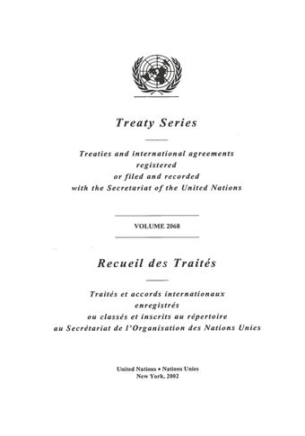 image of No. 35837. Federal Republic of Germany and Lao People's Democratic Republic