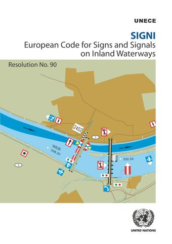 image of SIGNI - European Code for Signs and Signals on Inland Waterways