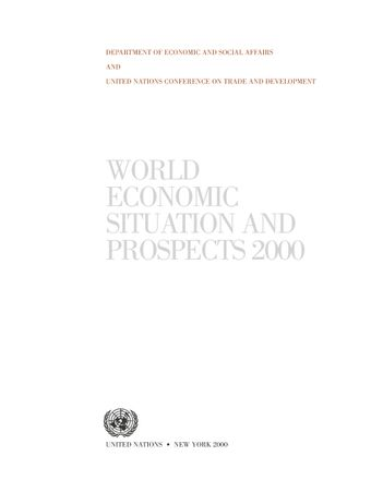 image of World Economic Situation and Prospects 2000