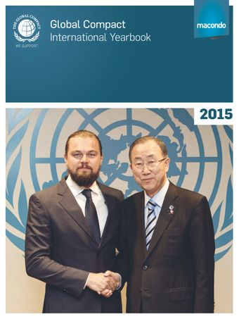 image of The United Nations Global Compact International Yearbook 2015