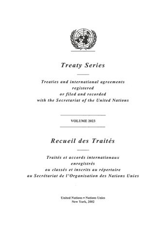 image of Treaty Series 2023