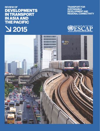 image of Review of Developments in Transport in Asia and the Pacific 2015