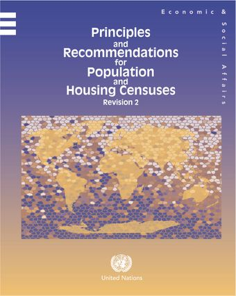image of Principles and recommendations for population and housing censuses