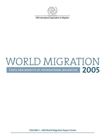 image of World Migration Report 2005