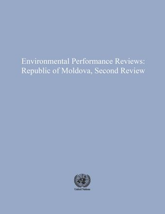 image of Environmental Performance Reviews: Republic of Moldova