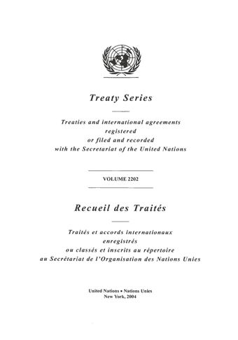 image of Treaty Series 2202