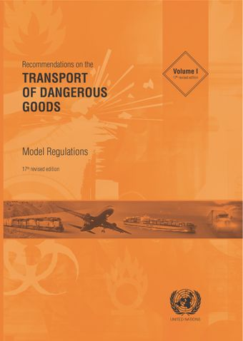 image of Recommendations on the Transport of Dangerous Goods