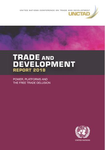 image of Trade and Development Report 2018
