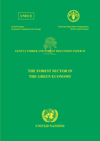 image of The Forest Sector in the Green Economy