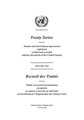 image of Treaty Series 1566