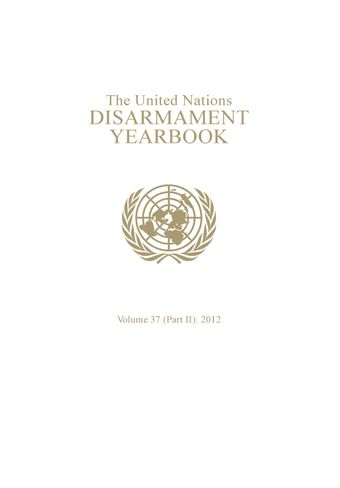 image of United Nations Disarmament Yearbook 2012: Part II