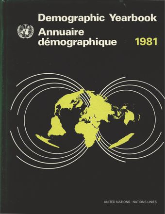 image of United Nations Demographic Yearbook 1981