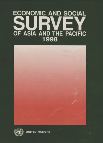 image of Economic and Social Survey of Asia and the Pacific 1998