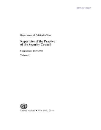 image of Subsidiary organs of the Security Council: peacekeeping operations and political and peacebuilding missions