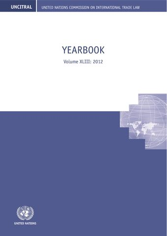 image of United Nations Commission on International Trade Law (UNCITRAL) Yearbook 2012