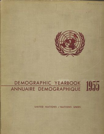 image of United Nations Demographic Yearbook 1955
