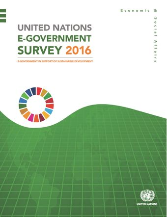 image of United Nations E-Government Survey 2016