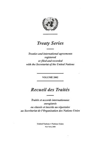 image of Treaty Series 2002