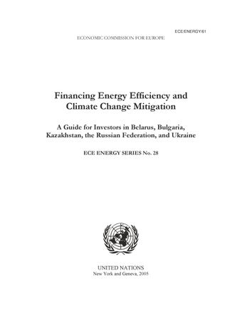 image of Financing Energy Efficiency and Climate Change Mitigation