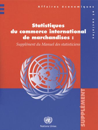 image of Statistiques du commerce international de marchandises