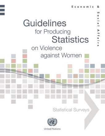 image of Guidelines for Producing Statistics on Violence against Women