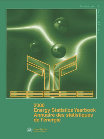 image of Energy Statistics Yearbook 2000