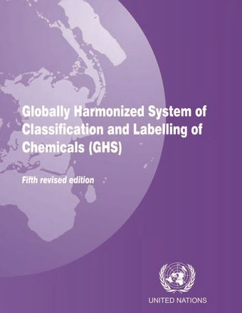 image of Globally harmonized system of classification and labelling of chemicals (GHS) - fifth revised edition