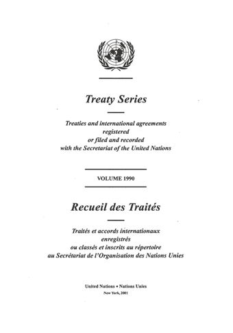 image of Treaty Series 1990
