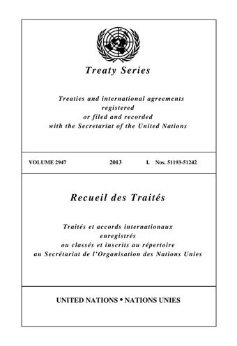 image of Treaty Series 2947