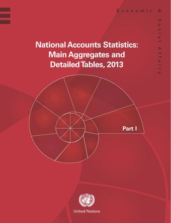 image of National Accounts Statistics: Main Aggregates and Detailed Tables 2013