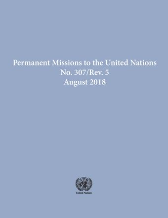 image of Permanent Missions to the United Nations, No. 307