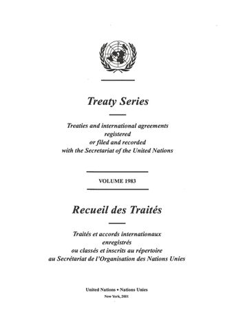 image of Treaty Series 1983