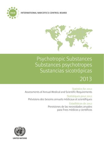 image of Table IV. Levels of consumption of groups of psychotropic substances in defined daily doses for statistical purposes (S-DDD) per thousand inhabitants per day