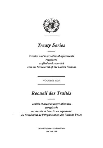 image of Treaty Series 1735