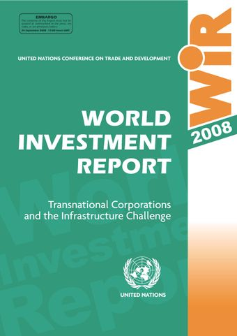 image of World Investment Report 2008