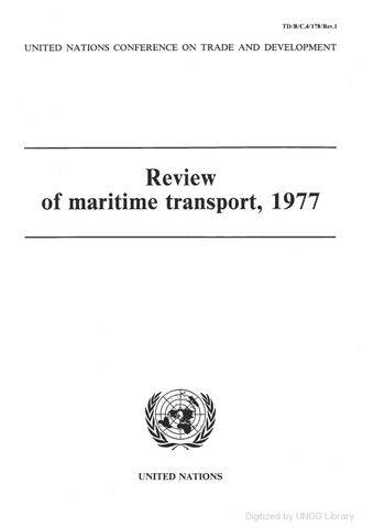 image of Review of Maritime Transport 1977