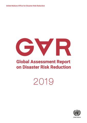 image of Global Assessment Report on Disaster Risk Reduction 2019