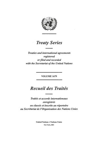 image of Treaty Series 1679