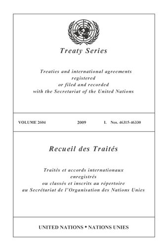 image of No. 46318 : United Nations Industrial Development Organization and India