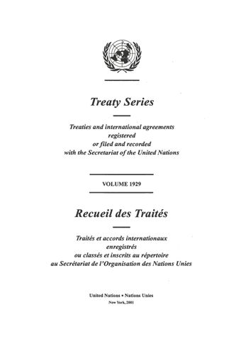 image of Treaty Series 1929