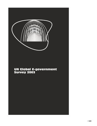 image of UN Global E-Government Survey 2003